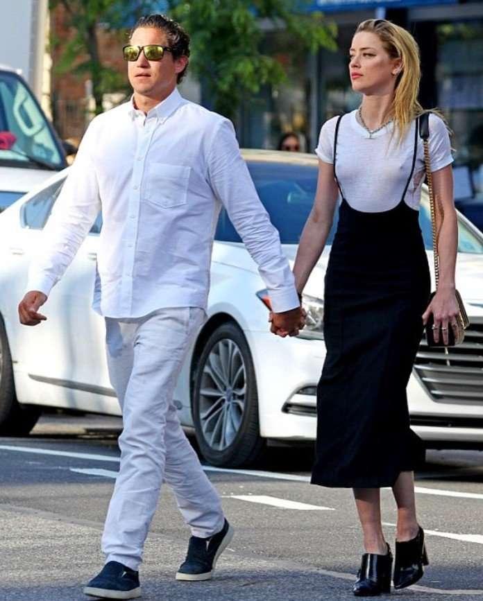«Он знатный ловелас»: Эмбер Херд встречается с экс-бойфрендом Хайди Клум