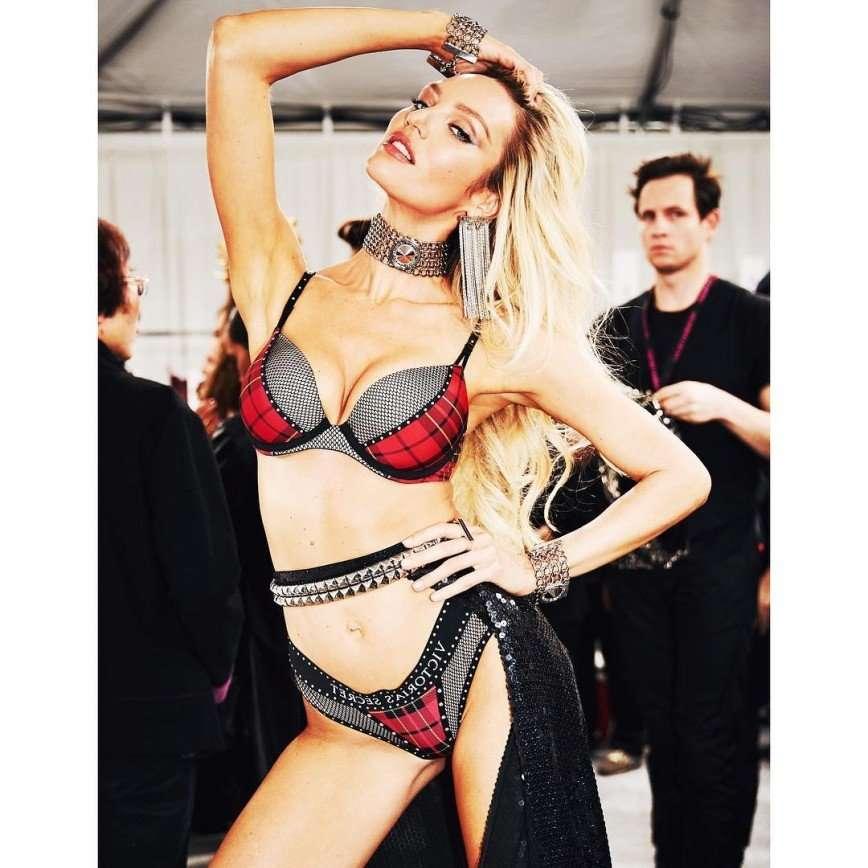 Ангел с приданым: Кэндис Свейнпол признана самой высокооплачиваемой бикини-моделью