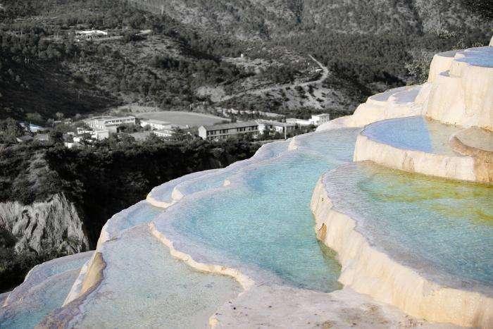 Чудо китайской природы: Террасы белой воды