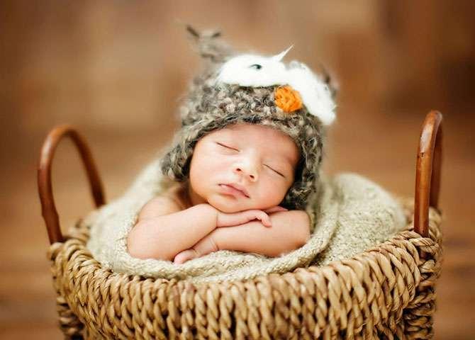 Спящие малыши в фотопроекте «Sweet Bambini»
