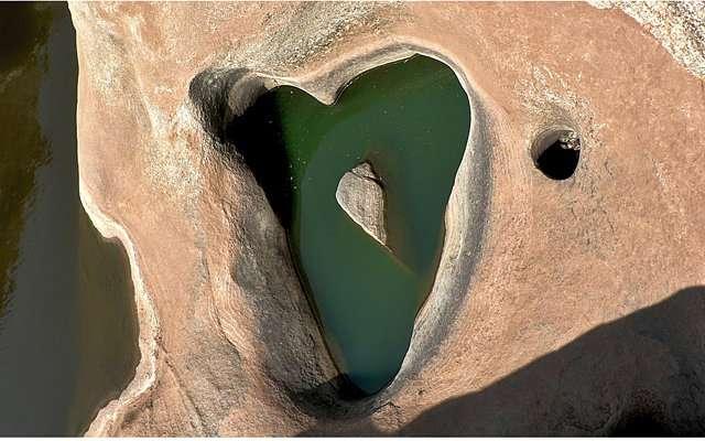 Земля, увиденная с неба: сердце природы