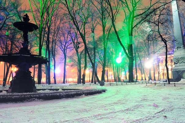 Зимний Петербург