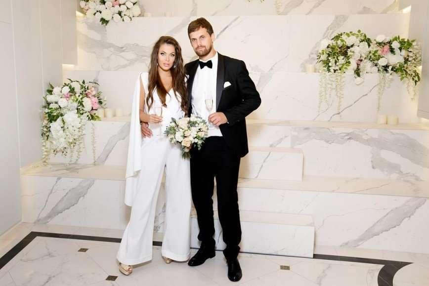 Эксклюзивные кольца и комбинезон невесты: Татьяна Терешина вышла замуж