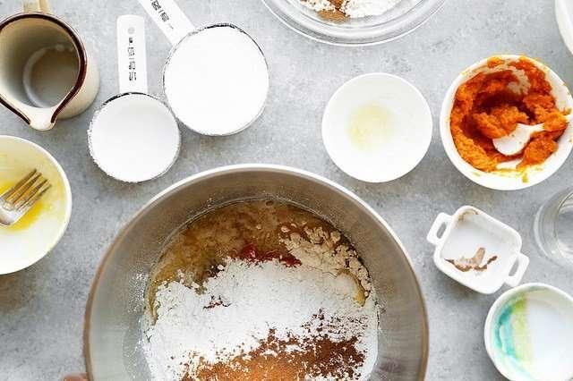 Тыквенные сахарные булочки