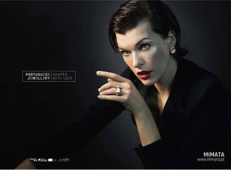 Милла Йовович в рекламе Portuguese Jewellery