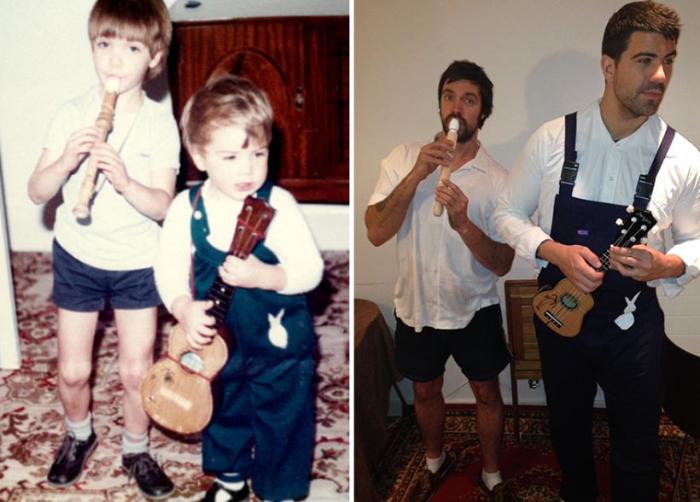Братья вернулись назад в прошлое, дабы порадовать родителей