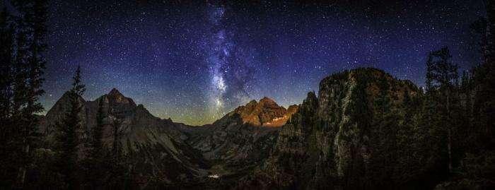 Ночное небо Томаса О'Брайена