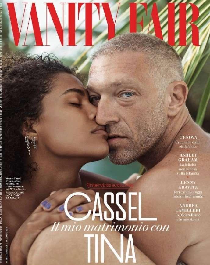 Актер Венсан Кассель мечтает о ребенке от молодой возлюбленной